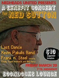 PATTIE BELL - Benefit for Ned Sutton