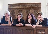 Bonnie Bird, Dianne Iauco, Amy Williams, Mary Paul