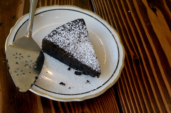 Brownies, pie, and more offered at the Transamerica Building starting today. - HEATHER HOCH