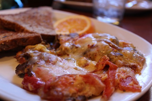 Cafe a la CArts Arizona Omelet: How do you go wrong with Anita Street Market chorizo?