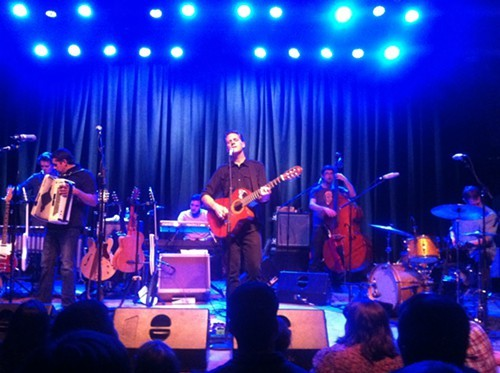 Calexico at Portlands Aladdin Theatre, 10/21/12