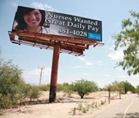 HOLLY HARRIS - Clear Channel Outdoor recently informed the city of Tucson that they would be dropping their rent payment for the land beneath this billboard from $10,000 a year to $10.