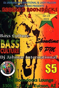 Come Get Your Reggae On With Bass Culture and Jahmar International