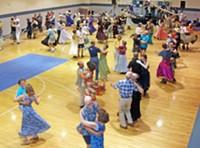 Contra dancing for Casa de Los Niños