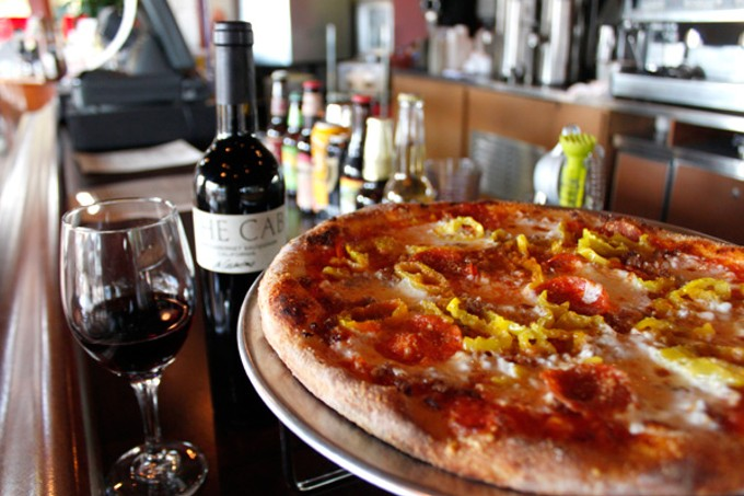 Dry River Company's Neapolitan-style pizzas help make this a fine eastside joint.