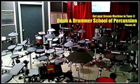 Group Classes are taught in our Electri Drum Lab