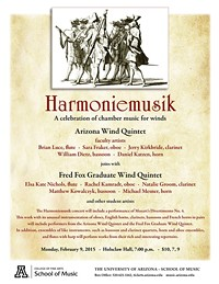 """Harmoniemusik"" - A celebration of chamber music for winds"