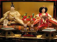 Japaense Hina Dolls Celebrating Girls Day
