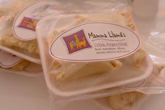 You can get Mamma Llama Empanadas take and bake or dine in at Tucson Tamale. - HEATHER HOCH