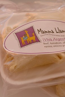You can get Mamma Llama Empanadas take and bake or dine in at Tucson Tamale.