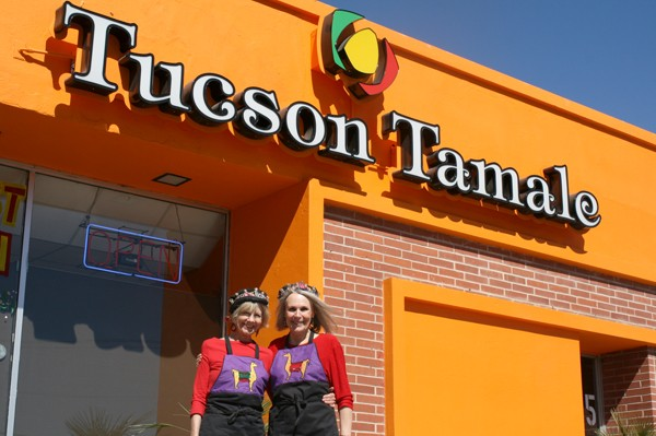 Vicki Sims and Kris Masalsky have partnered with Tucson Tamale. - HEATHER HOCH