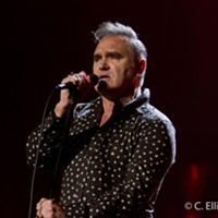 Morrissey, TCC Music Hall, May 23, 2012 Morrissey at the TCC Music Hall, May 24th, 2012. C. Elliott