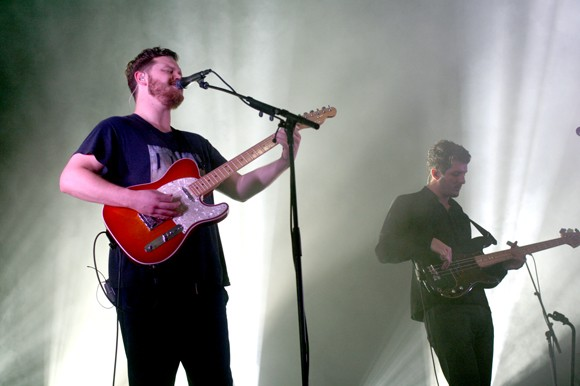 Alt-J performs at the Rialto Theatre. - HEATHER HOCH