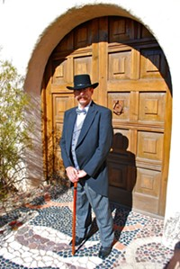 OLD FORT LOWELL NEIGHBORHOOD ASSOCIATION - Pie Allen, ready to give a tour of his former establishment.