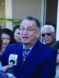 "MARI HERRERAS - Raúl Aguirre: ""Has any TUSD student tried to overthrow the U.S.?"""