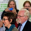 Ron Barber touring the Community Food Bank of Southern Arizona with Gabrielle Giffords during her final day as a congresswoman in Congressional District 8.