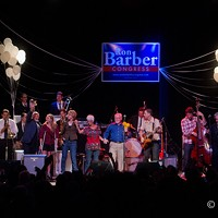 Ron Barber Get Out the Vote Concert, Rialto Theatre, June 9 Sergio Mendoza y la Orkesta headlined a Get Out the Vote concert supporting Ron Barber at the Rialto Theatre on June 9th, 2012. C. Elliott