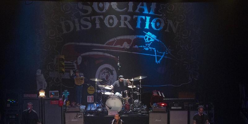 Social Distortion at the Rialto Theatre, Feb. 1 Social Distortion at the Rialto Theatre, Feb. 1, 2012. C. Elliott