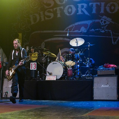 Social Distortion at the Rialto Theatre, Feb. 1