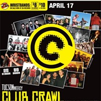 Spring Club Crawl® Saturday, April 17