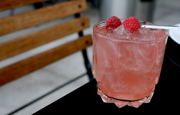 Tequila's Dirty Sister uses bacanora to add a smoky layer to this tart and fruity cocktail. - HEATHER HOCH