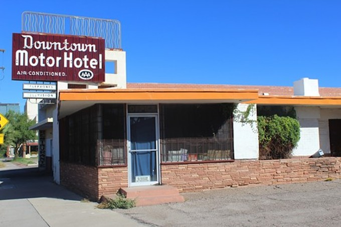 The Saga Of The Downtown Motor Hotel The Range The