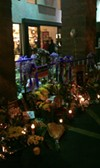 The memorial in front of the Safeway at Ina and Oracle roads, Saturday, Jan. 15.