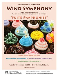 The University of Arizona Wind Symphony Fall Concert
