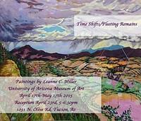 LEANNE C. MILLER - Time Shifts/ Fleeting Remains, Leanne C. Miller