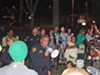 TPD Chief Roberto Villaseñor delivered Occupy Tucson a message in person: Stay in the park past 10:30 p.m., and get a citation.