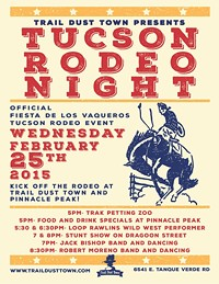 Tucson Rodeo Night & Dance at Trail Dust Town