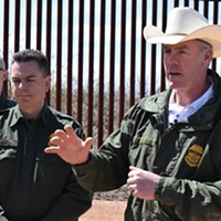 Interior Department Boss Visits Border Wall