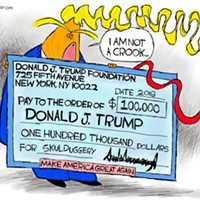 Claytoon of the Day: The Chump Foundation