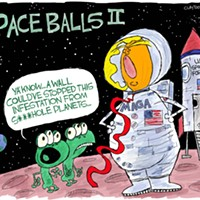 Claytoon of the Day: Space Balls II