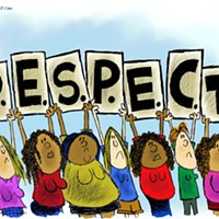 Claytoon of the Day: R.E.S.P.E.C.T.