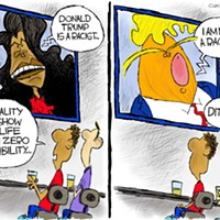 Claytoon of the Day: Reality TV Show Lowlife