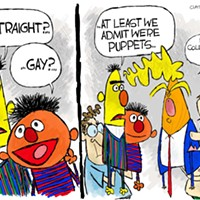 Claytoon of the Day: Bert, Ernie, and Squirmy