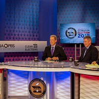 Ducey, Garcia Clash Over Education, Border Security in First Televised Debate