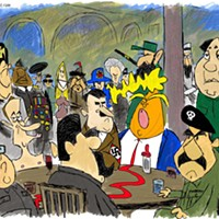 Claytoon of the Day: The Autocratic Club