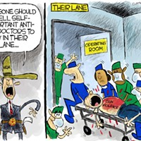 Claytoon of the Day: The Doctors' Lane