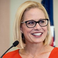 Sinema Lands in Washington, a Day after McSally Concedes Senate Race