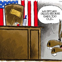 Claytoon of the Day: Ditching Pelosi