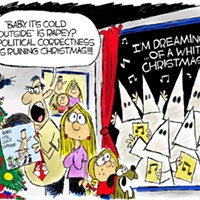 Claytoon of the Day: Baby, It's Politically Correct Outside