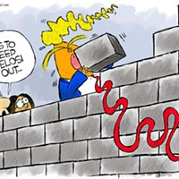 Claytoon of the Day: Nancy's Wall