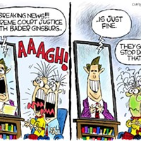 Claytoon of the Day: Stressing RBG