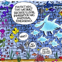 Claytoon of the Day: Fishy Emergency