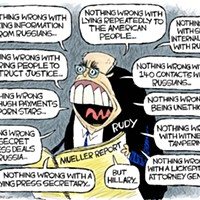 Claytoon of the Day: There's Something Wrong With Rudy