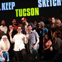 Laughing Stock: Keep Tucson Sketchy, Celebrating and Unscrewed