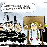 Claytoon of the Day:  No Wiggle Room For Women