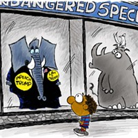 Claytoon of the Day: Endangered Species